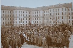 15 - Soldați români la Viena în anul 1918