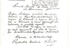 4 - Actul de Unire al Basarabiei cu România - 27 mar. 1918