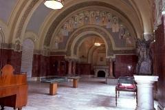1 - Sala în care cei 1228 de delegaţi au semnat Unirea Transilvaniei cu România - Alba Iulia