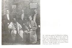 14 - Membri ai delegației care au dus la București Actul de Unire al Transilvaniei cu  România