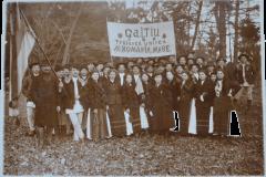 4 - Reprezentanții localității GALTIU la Adunarea Națională de la Alba Iulia
