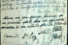 4 -  Carte  poștală primită de Iuliu Maniu pe front 2
