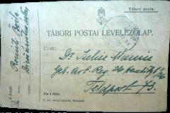 5 - Carte  poștală primită de Iuliu Maniu pe front 3