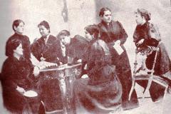 7- Femeile române sălăjene la procesul Memorandului - Cluj, 1894
